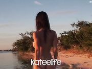 KateeLife AKA Katee Owen (KTO) - Nude in the water