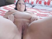 Pregnant whore cumming