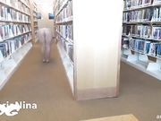 AriaNina - In Rancho Mirage Public Library Cam Show