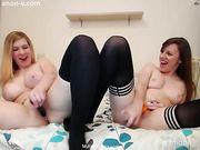 alisamay / evelyn - two girls cum