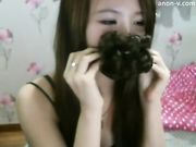 Korean BJ Neat Pussy Bate