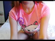 Naughty teen shows us what she must never do